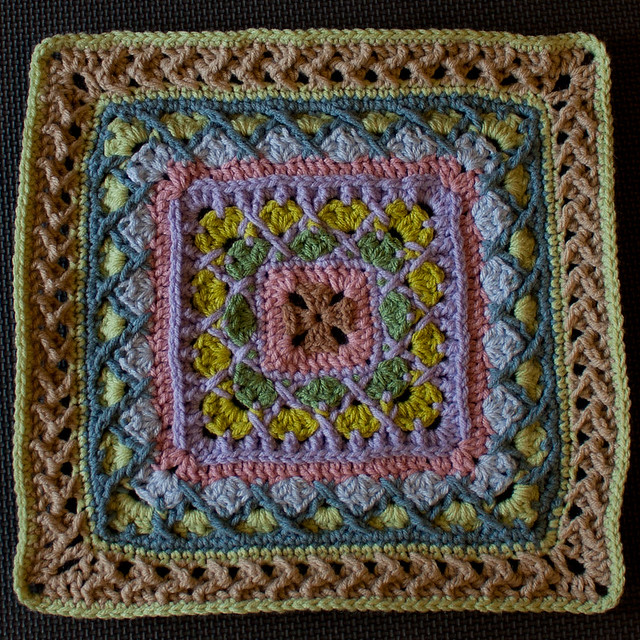"""Excellence in Beauty"" Afghan Block"