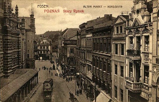 Stary_Rynek_-_Nowy_Ratusz_(1900-1918)