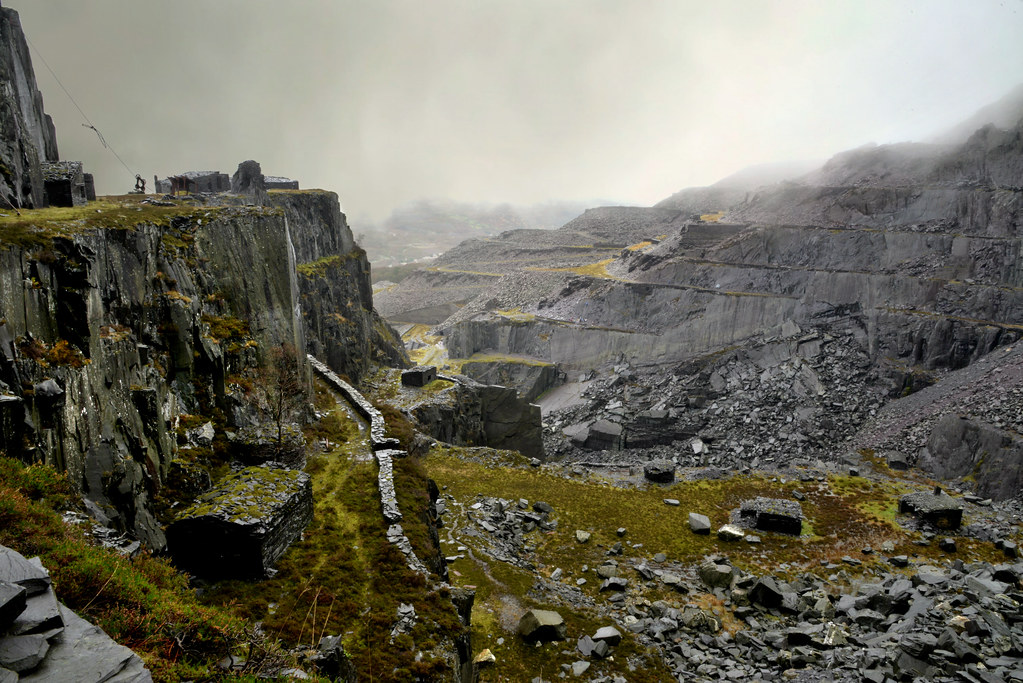 The Slate Quarries And Mines Of North Wales Flickr
