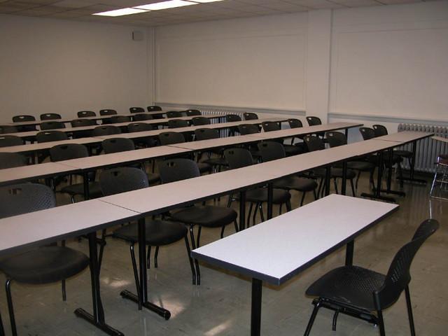 Windowless Classroom