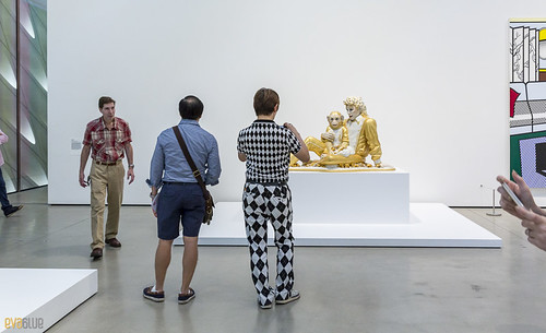 Michael Jackson and Bubbles Jeff Koons The Broad Museum Los Angeles 01 | by Eva Blue