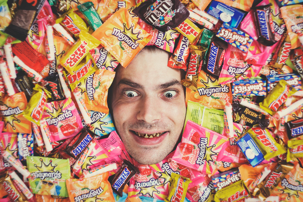 Self Portrait Candy Is Dandy This A Composite Imagepho Flickr