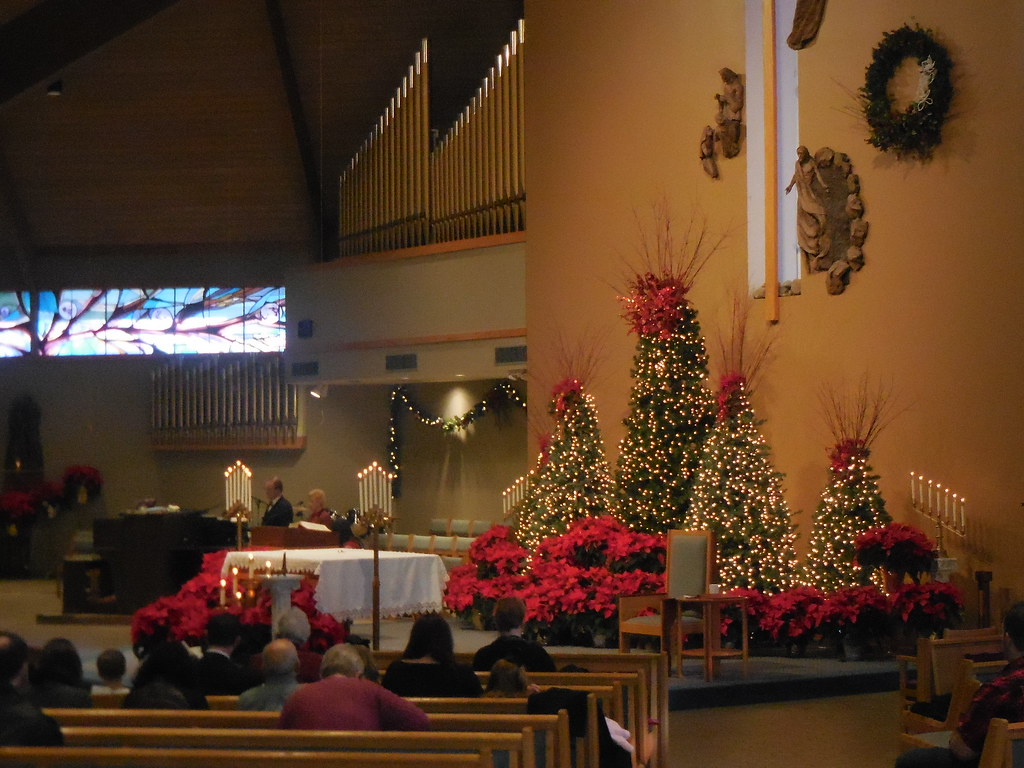 church decorations at christmas by stedithlivonia