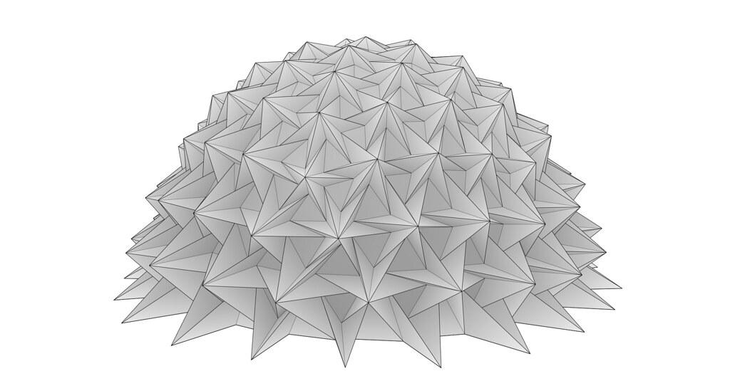 Freeform Origami Tessellations Tomohiro Tachi Flickr