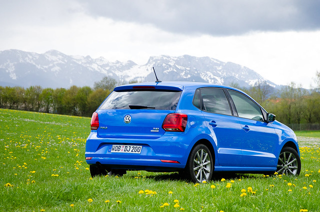 Volkswagen Polo TSI рестайлинг