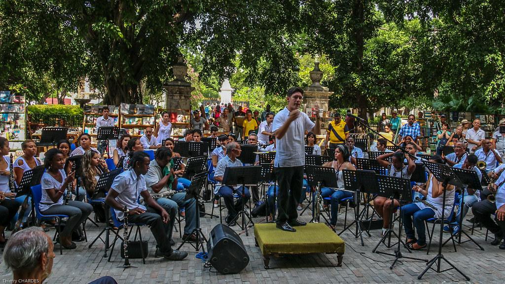 Concert Plaza de Armas - La Havane - [Cuba]