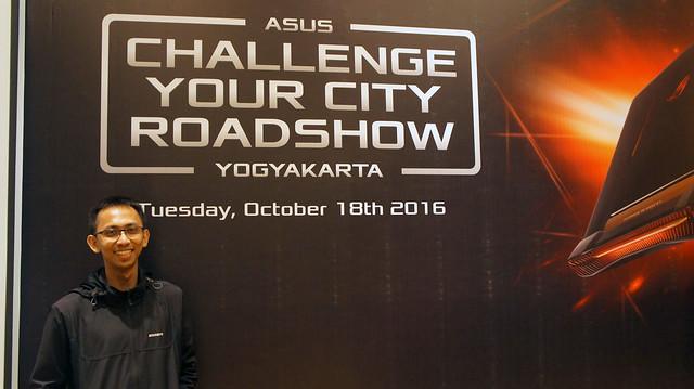 Asus Challenge Your City Roadshow Yogyakarta