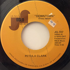 PETULA CLARK:DOWNTOWN(LABEL SIDE-A)