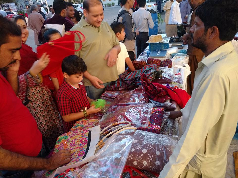 Mehran Handicrafts Stall At Sindh Lit Festival In Karachi Flickr