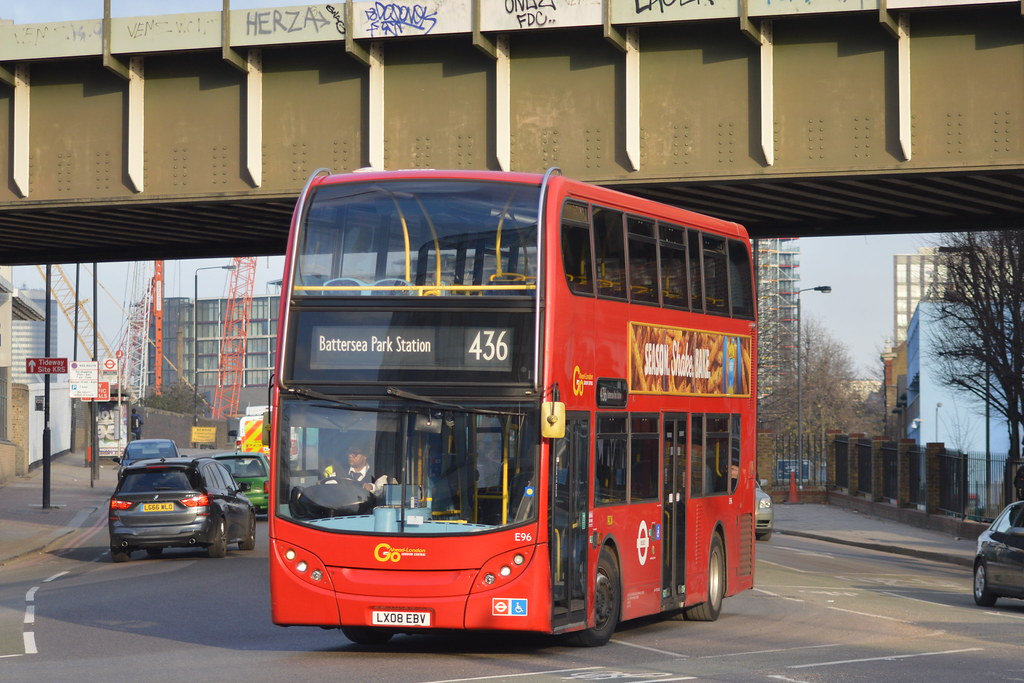 436 Bus Route >> London Central E96 Route 436 Since The 436 Was Re Routed Flickr