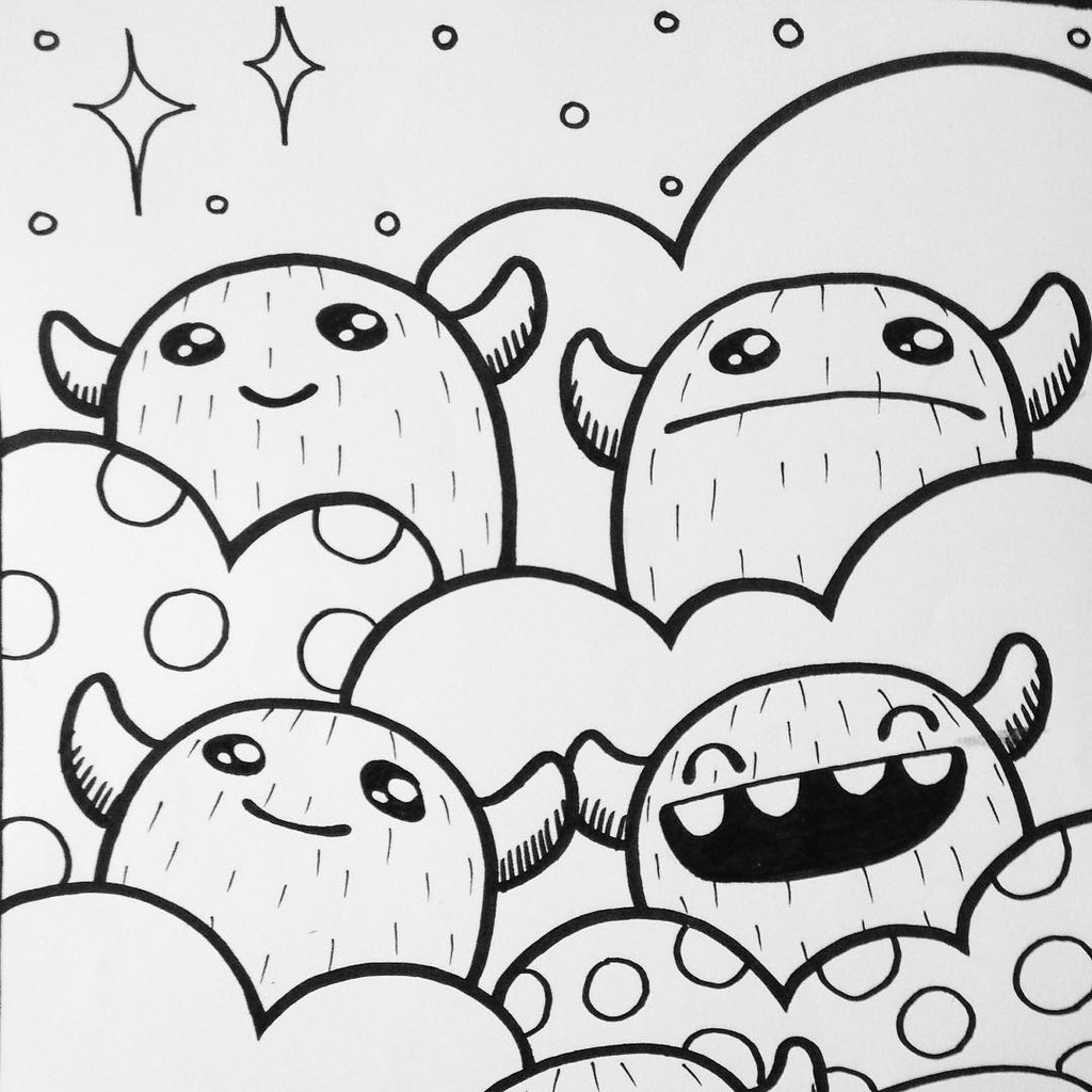 Go Get Them Crayons Colouring Kids Yeti Bubble Cloud Flickr