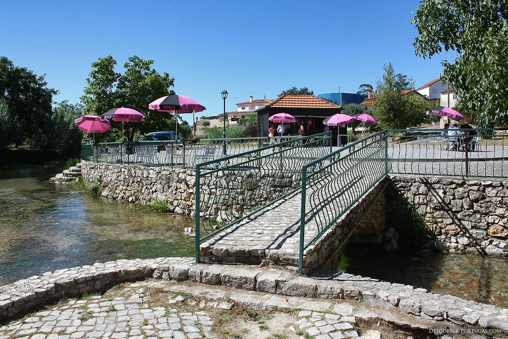 Olhos d'Agua est l'un des endroits les plus agréables du Concelho de Pombal