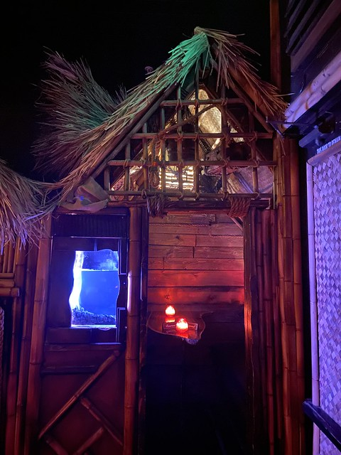 Bahooka hut at Zombie Village