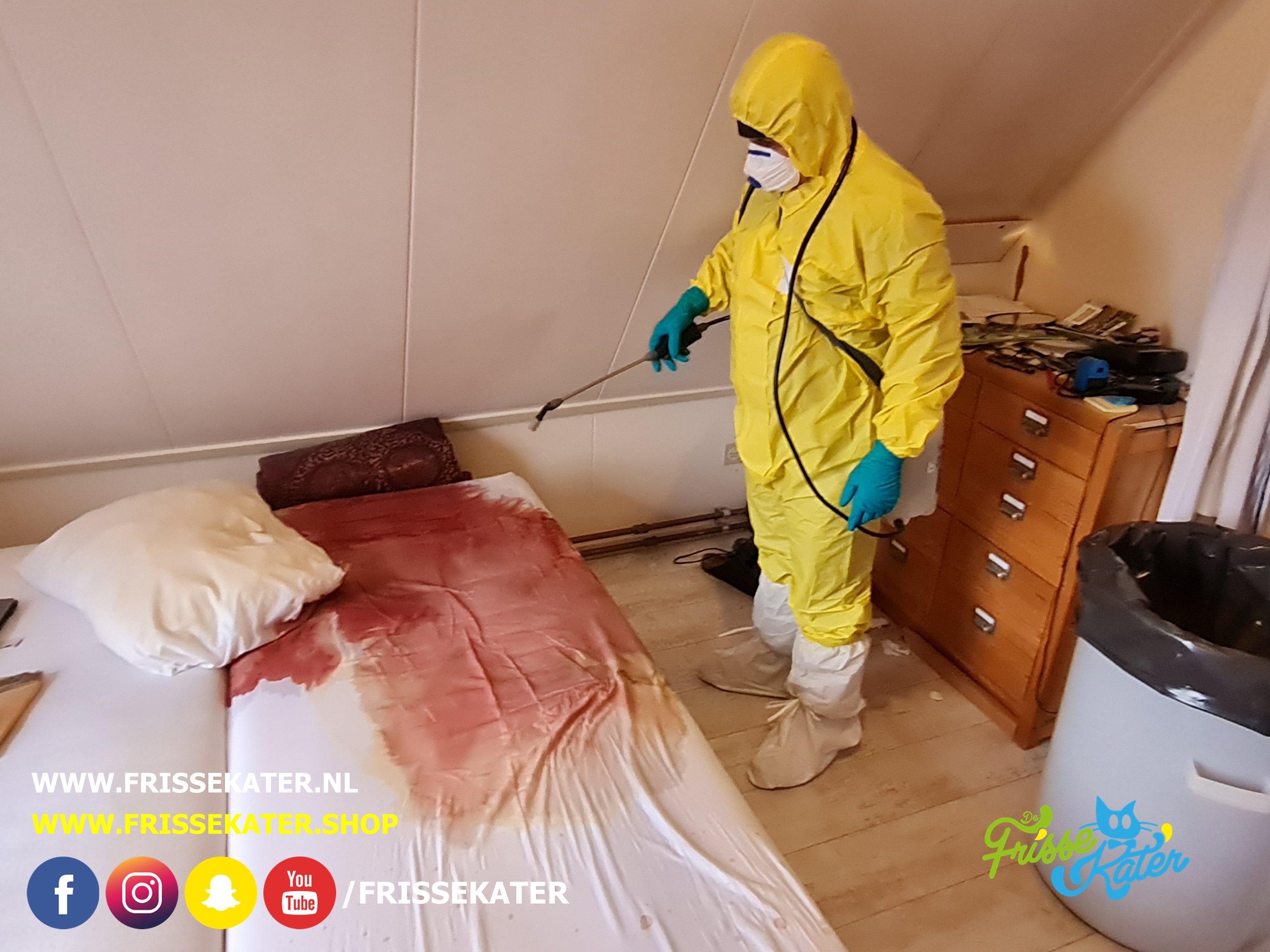 biohazard reiniging