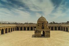 Ibn Tulun Mosque Courtyard
