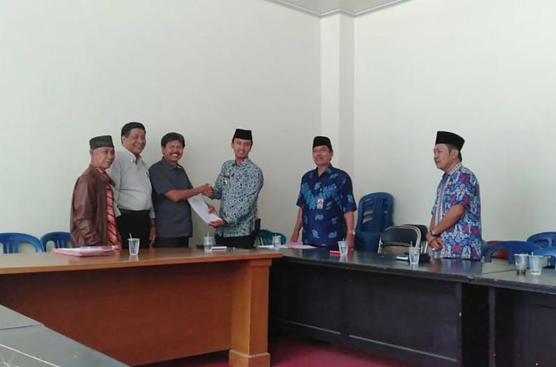 Public Hearing Tim Terpadu Reforma Agraria Kabupaten Rejang Lebong