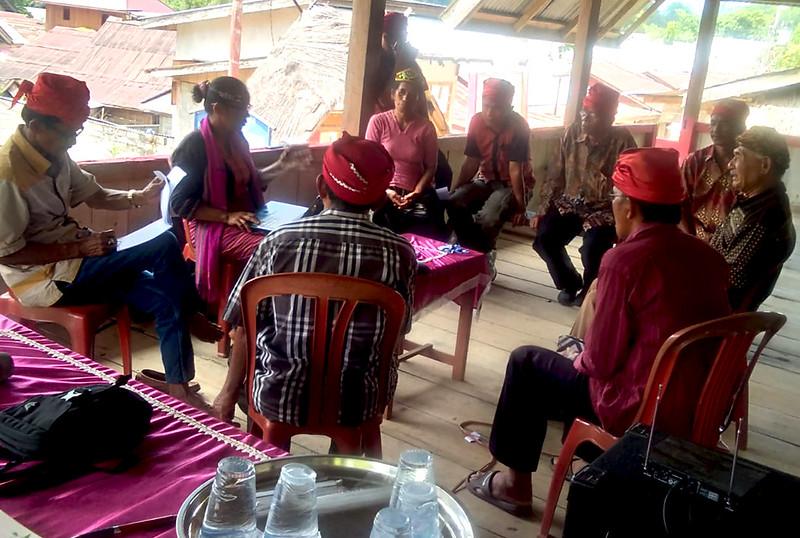 FGD Pengusulan Hutan Adat dan Kelengkapan Profil Komunitas