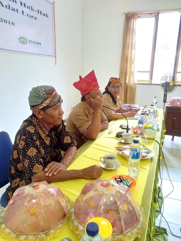 Sosialisasi PPMHA Lore oleh AMAN Wilayah Sulteng