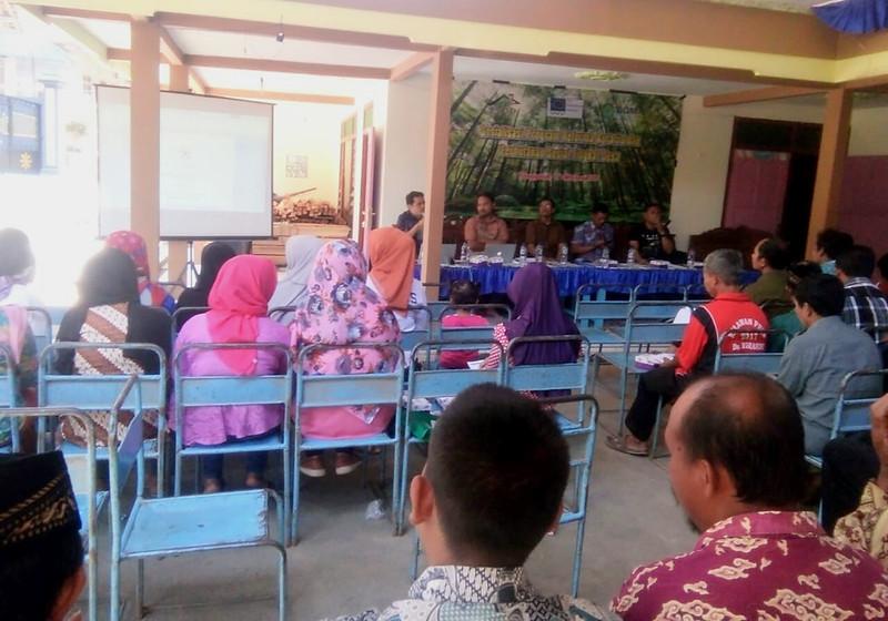 Sosialisasi RA PS di Desa Ngrandu, Kabupaten Trenggalek