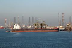 """Vessel """"Vanshi"""" at the Khalifa Bin Salman Port"""