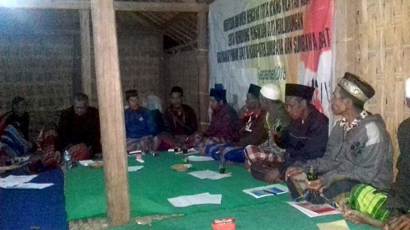 Sosialisasi Program di Komunitas Pusu