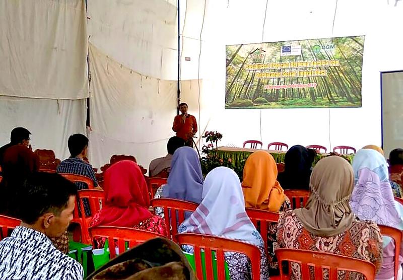 Sosialisasi RA PS di Desa Temanggung
