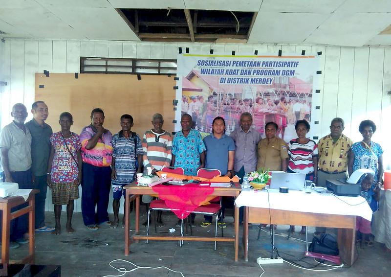 Pembentukan Tim Pemetaan Panah Papua