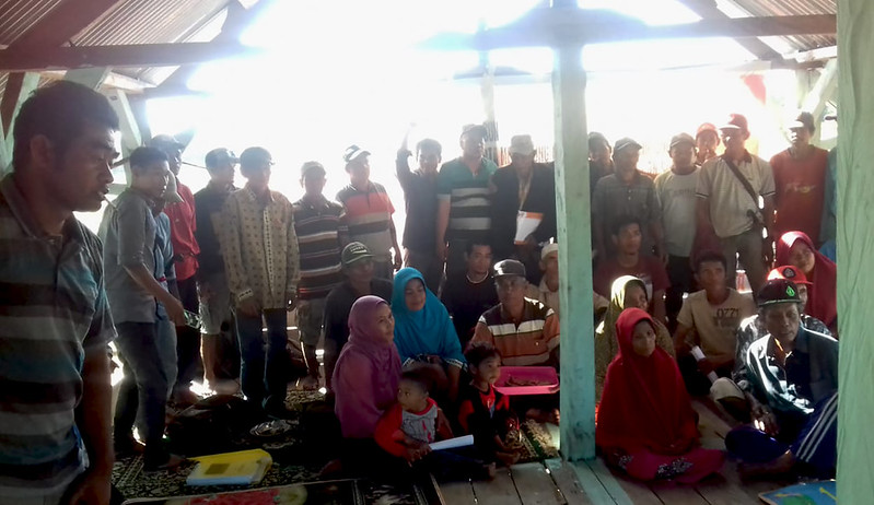 Sosialisasi Program di Komunitas Talonang
