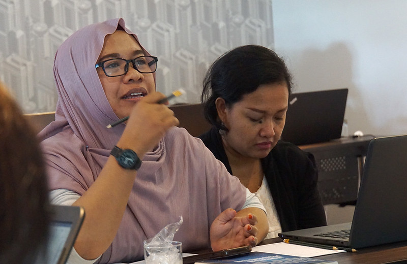 Anggota NSC Region Jawa dan Perempuan Adat