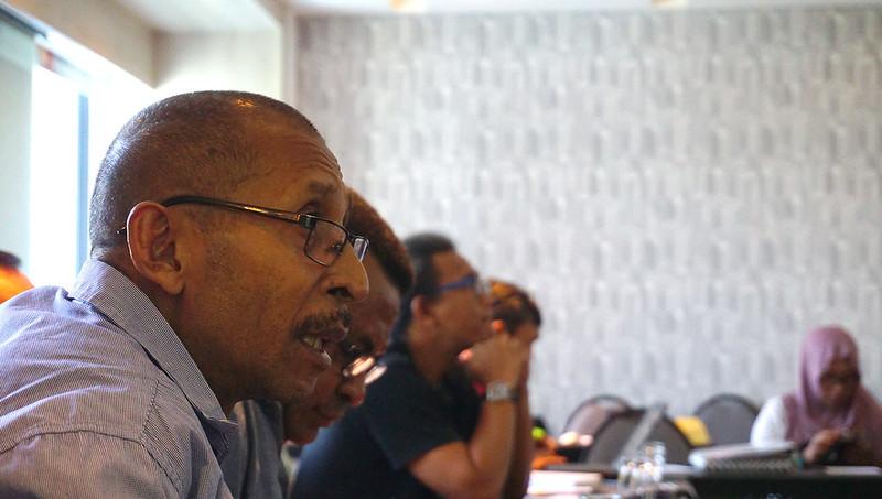 Ketua NSC Membuka Pertemuan