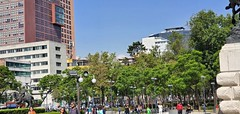 historic center in Mexico City