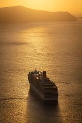 Santorini Cruise Ship