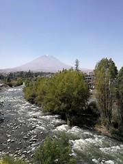 Pérou : Volcan Misti depuis Arequipa