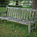 Church of St Andrew, Nuthurst, West Sussex churchyard bench 1