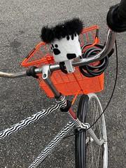 Funky Art Bike on Commercial Street