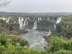 Cataratas do Iguaçu com vazão reduzida