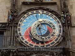 Prague's beautiful astronomical clock