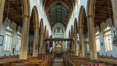 Nave view of St Edmund Church