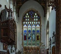 The East Window St Edmunds Church, Southwold