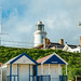 Southwold Lighthouse and Beach Huts