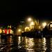 Les gaths de Varanasi de nuit - (Bénarès) - Inde