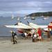 1965 Tourist Air Travel Ltd Grumman G-44A Widgeon ZK-BAY at Halfmoon Bay, Stewart Is, New Zealand, 28 Apr 1965.