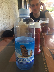 Easter Island rain water to drink