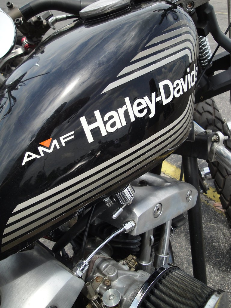 Clean And Simple Amf Harley Paint