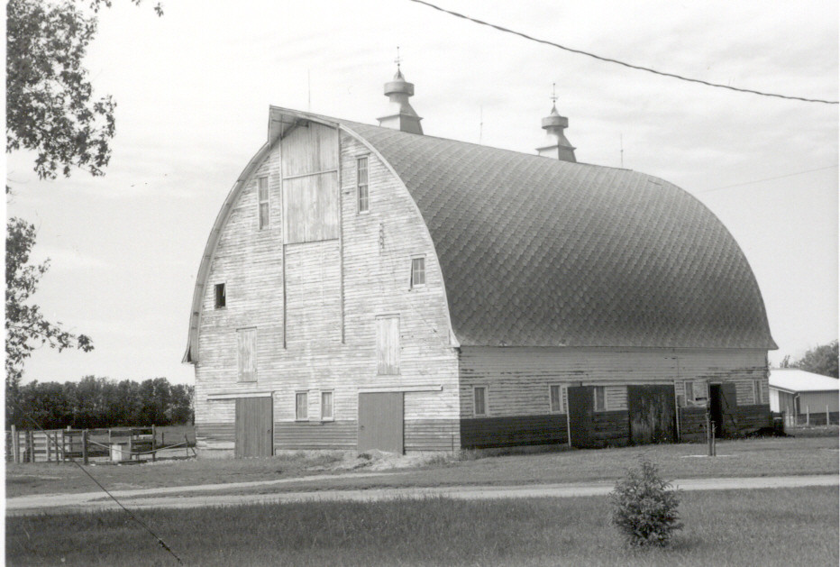 Herman F Micheel Gothic Arched Roof Barn Brookings Count
