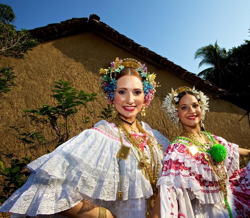 Traditional Pollera Dress Panama City Panama The Tradit Flickr