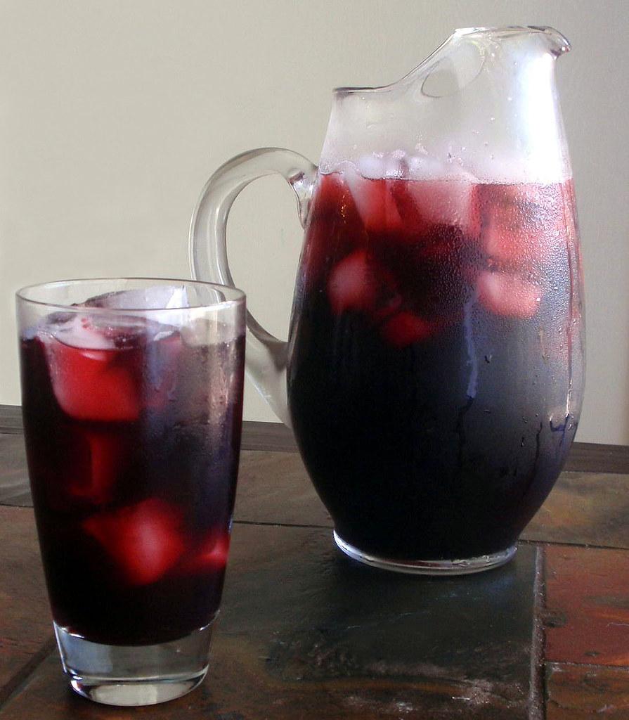 Agua de Jamaica   From Latin America, Agua de Jamaica is a r ...