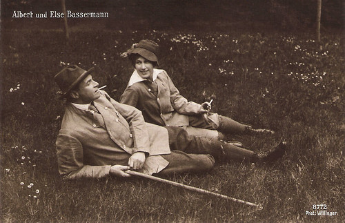 Albert Bassermann, Else Bassermann
