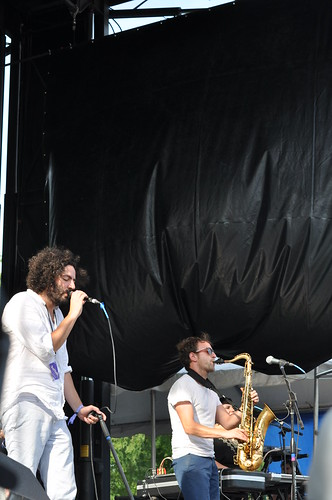 Destroyer @ Pitchfork Music Festival, 7.16.11 | by whitperson