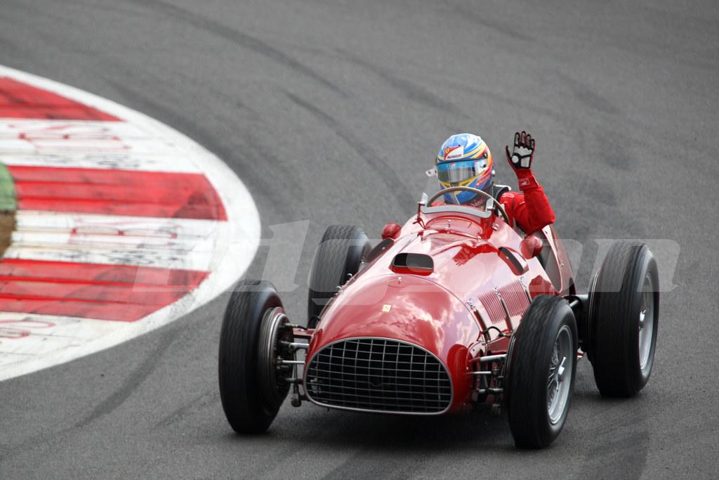 Fernando Alonso Esp 1950 S Ferrari 357 F1 Formula 1 Worl